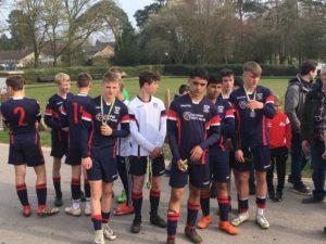 Burton U15s sportingly wait to applaud