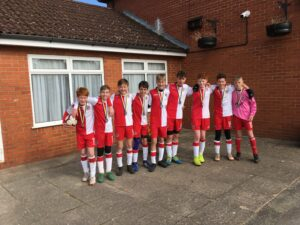 Poole Town FC Wessex U14s Runners Up